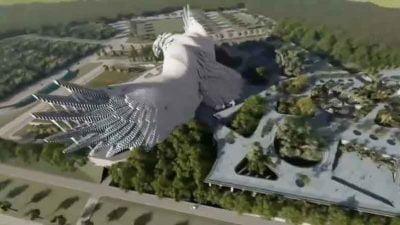 Desain Istana Negara oleh Nyoman Nuarta