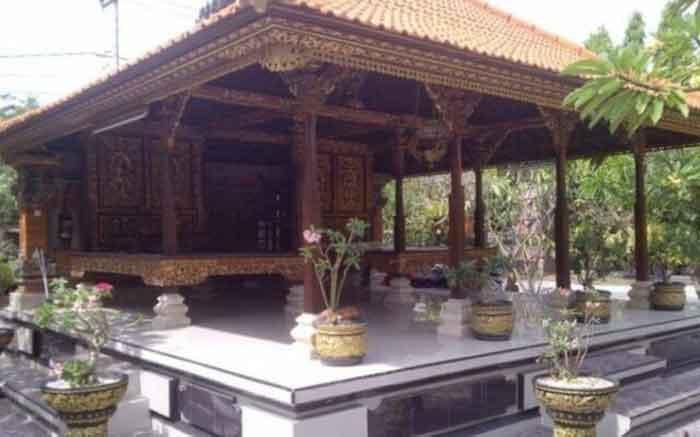 Bagian Rumah Adat Bali dan Fungsinya