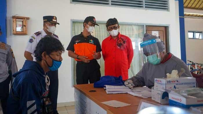 Tanpa Kelengkapan, Pelaku perjalanan ke Denpasar akan di pulangkan