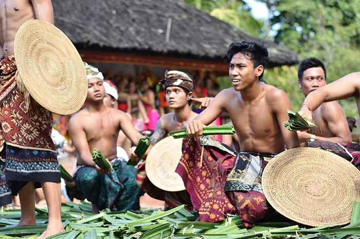 Tradisi Perang Pandan di Desa Tenganan Pegringsingan