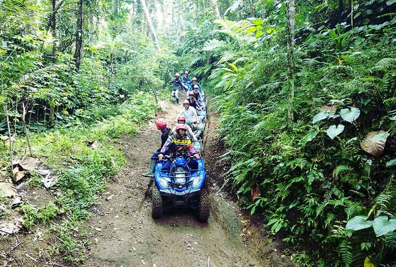 Wisata ATV Kuber Bali Adventure - Trek ATV paling menantang di Bali