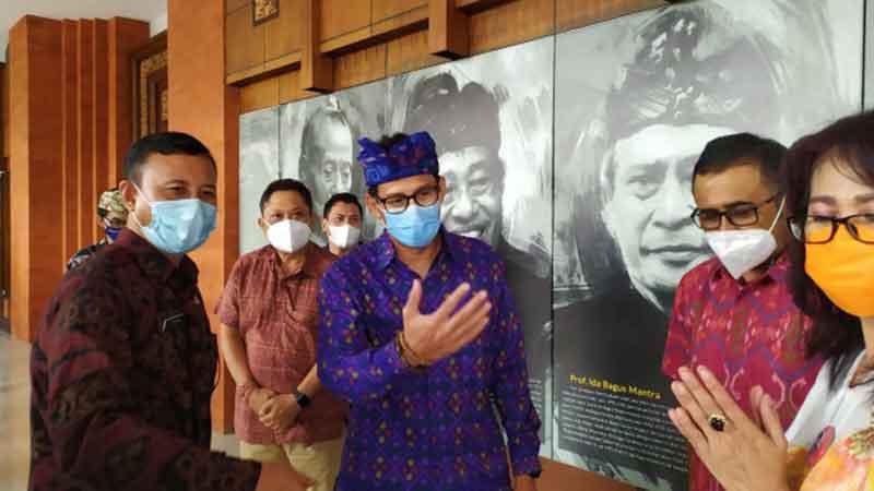 program work from Bali