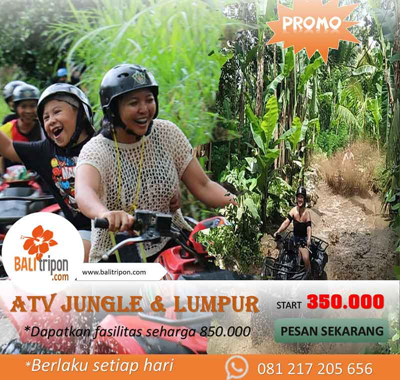 Promo Wisata ATV di Bali - Serunya main atv di Ubud Bali