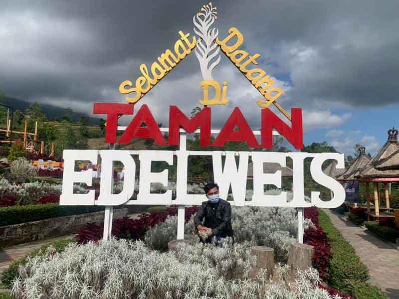 Tempat Wisata Taman Edelweis, Objek wisata instagramable di Bali