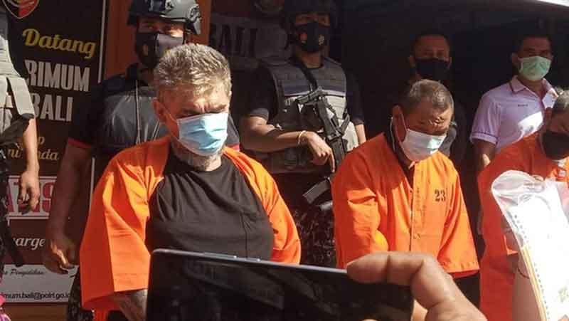 Ngaku Interpol 3 WNA Rusia lakukan pemerasan hingga 230 juta di Bali