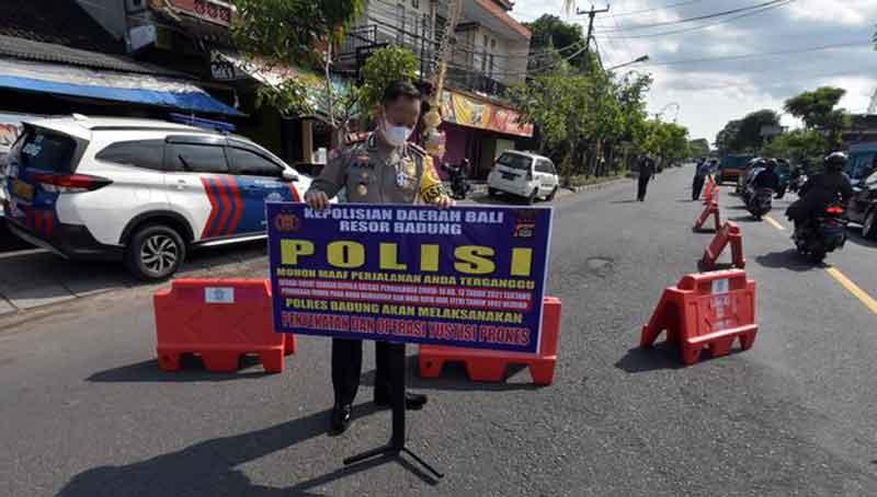 Opsi perpanjangan PPKM Darurat Jawa Bali