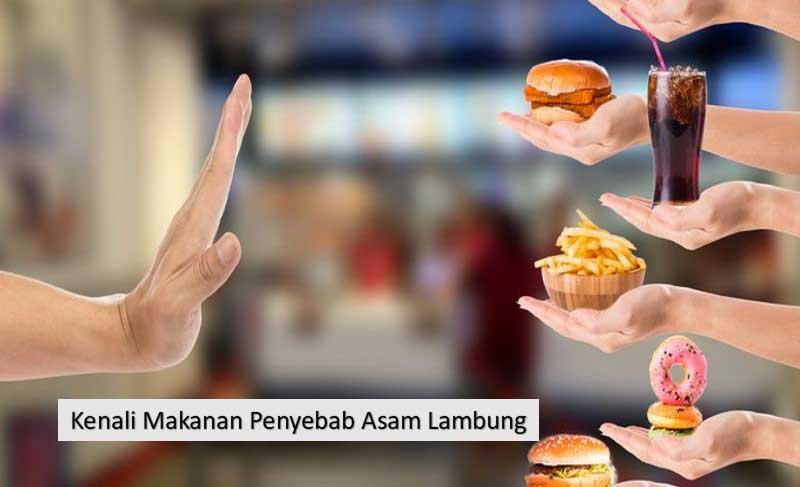 Kenali 9 Makanan Penyebab Asam Lambung Naik