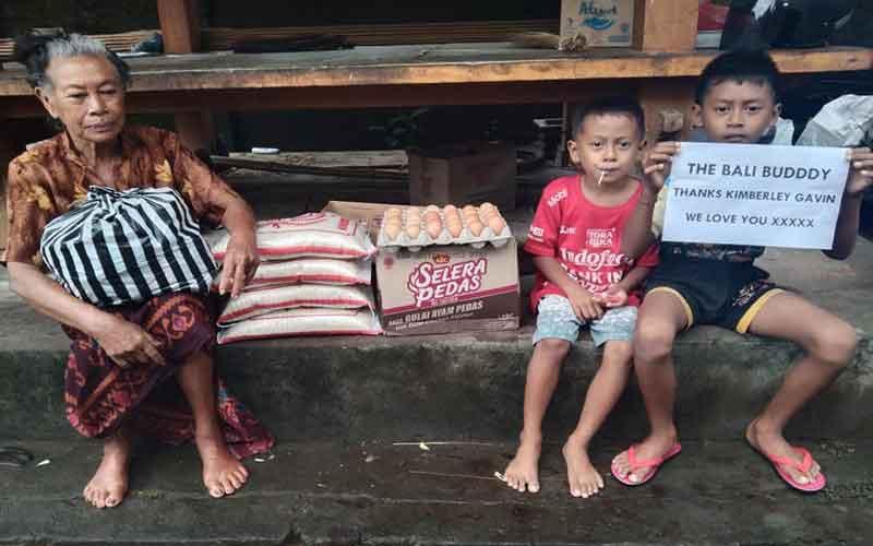 Bali Buddy Rice and Food Drive