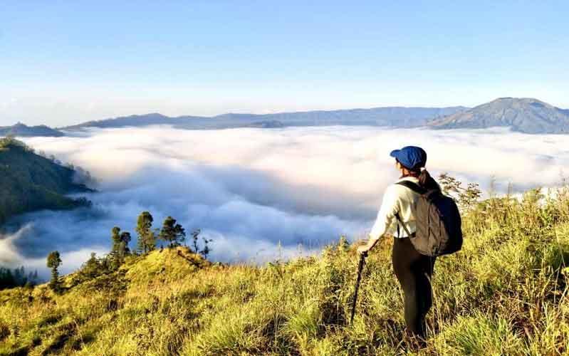 Mendaki Bukit Trunyan Bali, Tempat Pendakian yang lagi trend di Bali