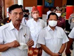 Kasus COVID-19 Bali Belum Turun, Luhut Meminta Tunda Upacara Keagamaan