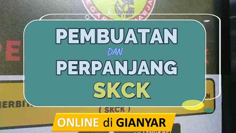 Membuat SKCK di Gianyar Sekarang Bisa Dengan Online, simak caranya