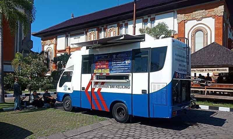 Jadwal SIM Keliling Badung September 2021