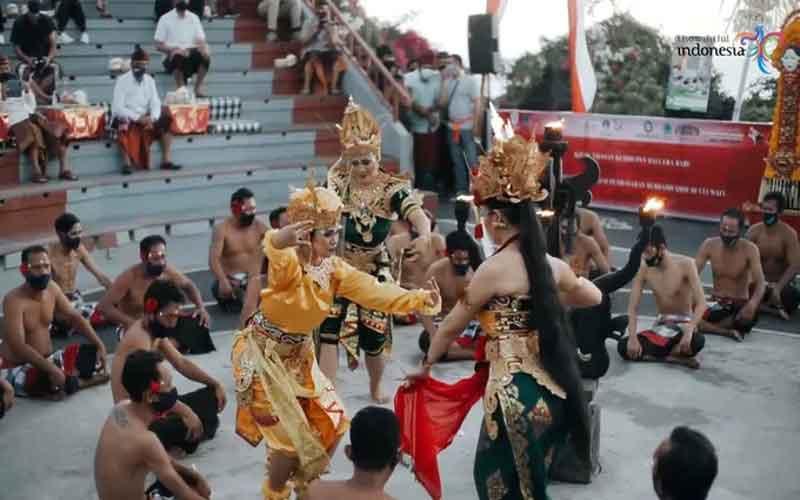 Di buka Kembali Tari Kecak Uluwatu Bali, Ini yang Harus Kamu Tahu